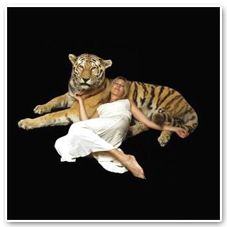hrubý bílý tantra
